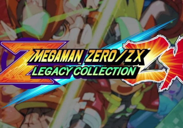 Mega Man Zero/ZX Legacy Collection - Bannière
