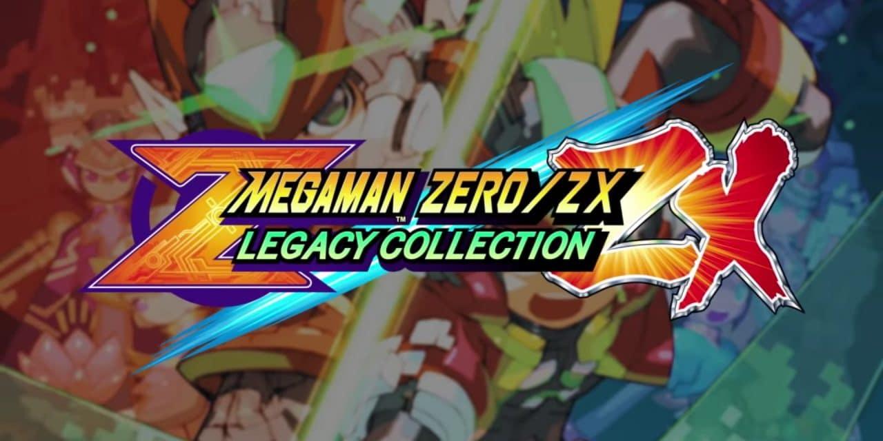 Mega Man Zero/ZX Legacy Collection - Bannière