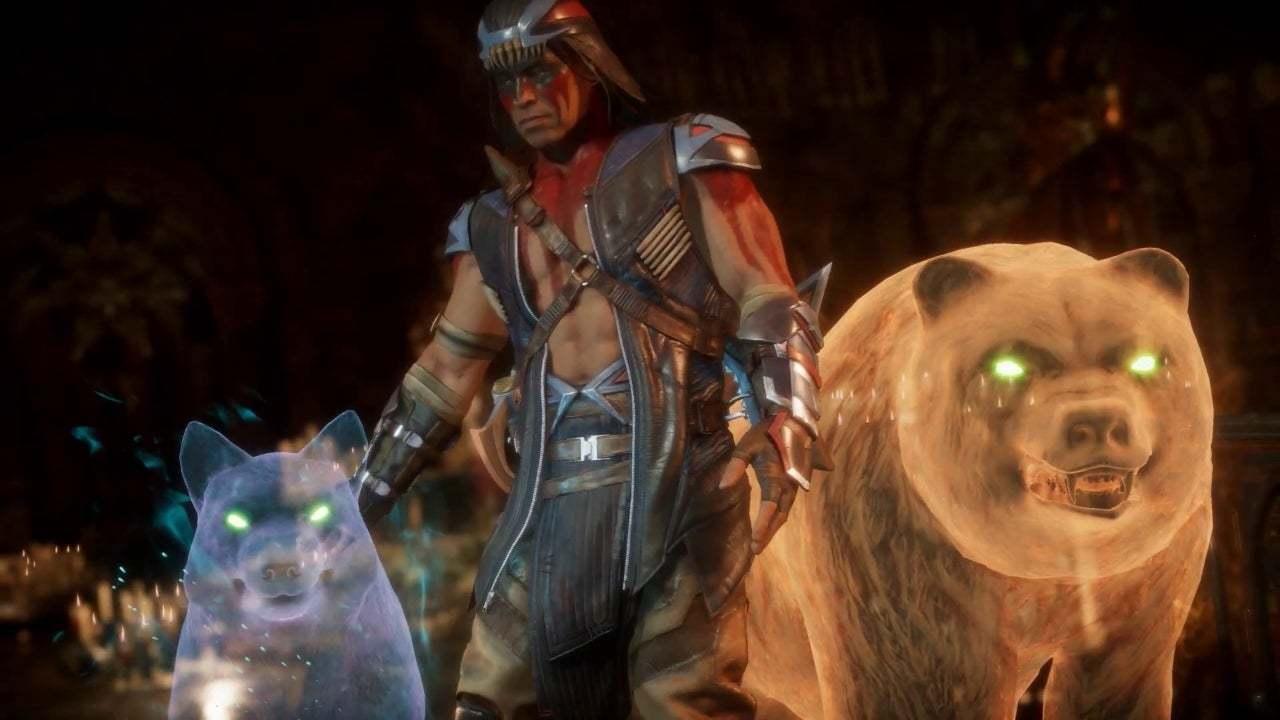 Mortal Kombat 11 - Nightwolf côté bestial