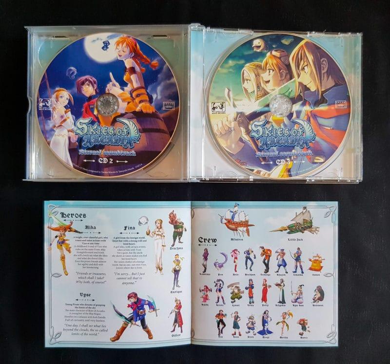 OST Skies of Arcadia - intérieur
