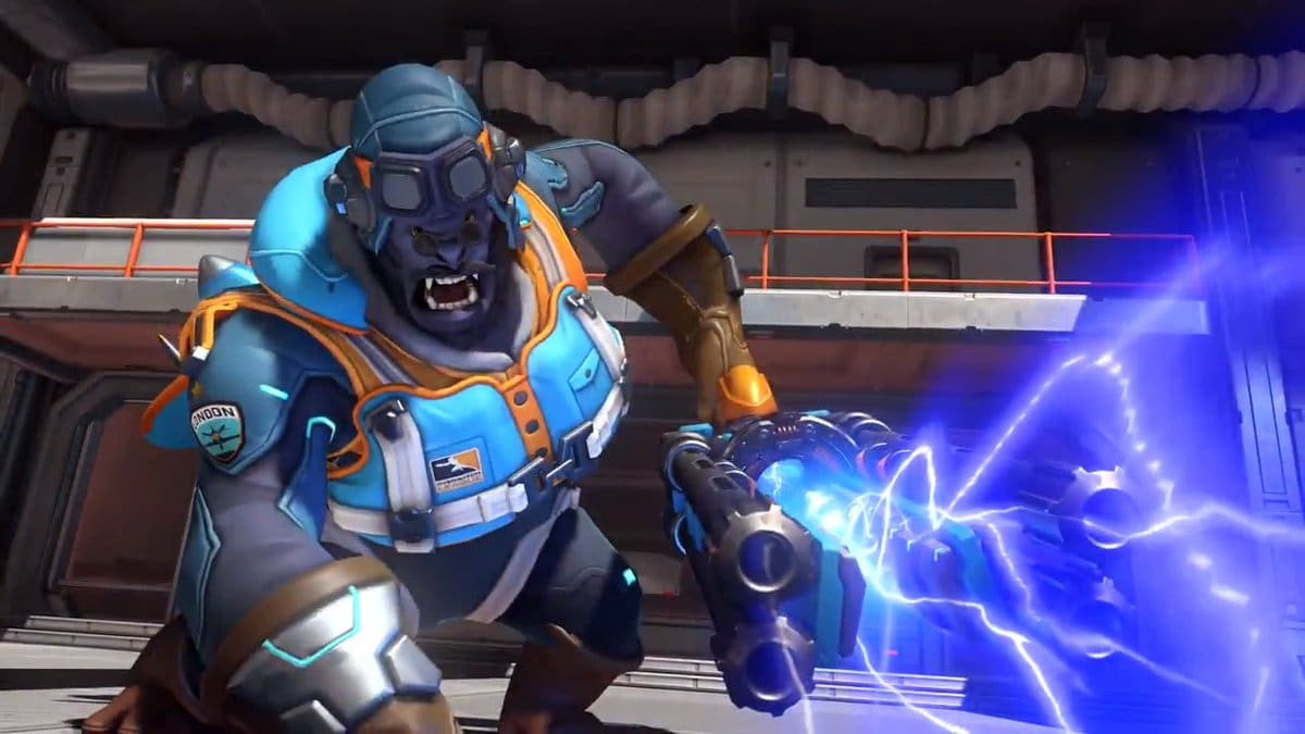Overwatch Flying Ace Winston