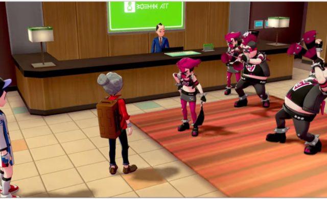 Pokémon Épée et Bouclier - La Team Yell