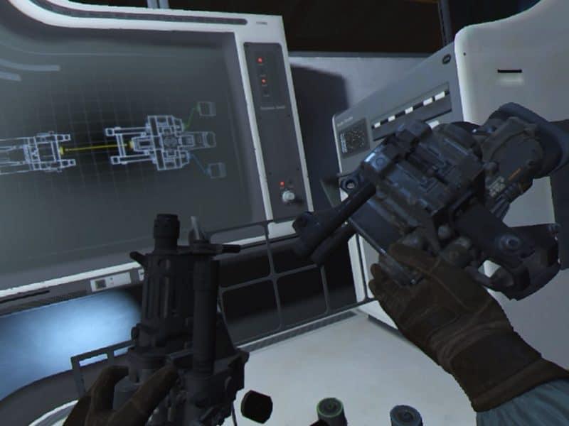 Wolfenstein Cyberpilot assemblage d'arme
