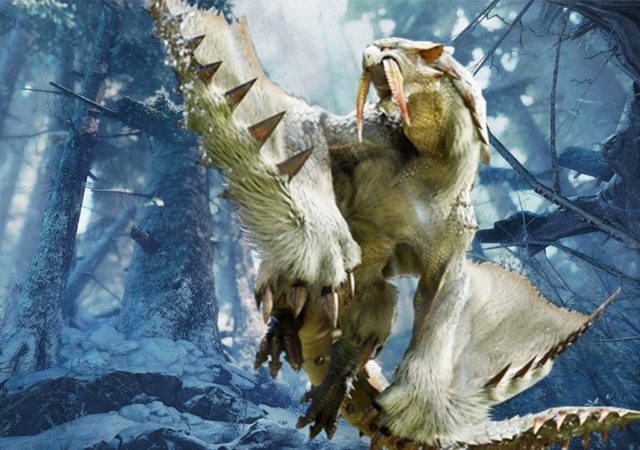 Monster Hunter World: Iceborne barioth