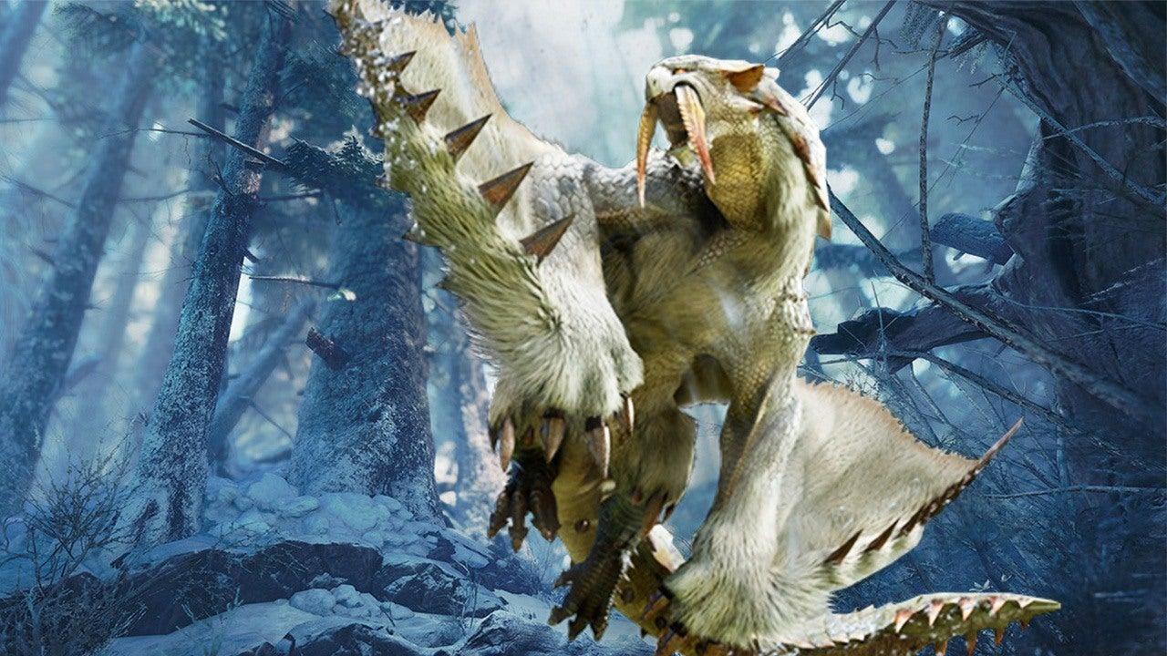 Monster Hunter World: Iceborne barioth