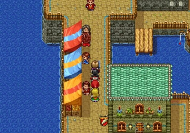 dragon quest XI S - version 2D