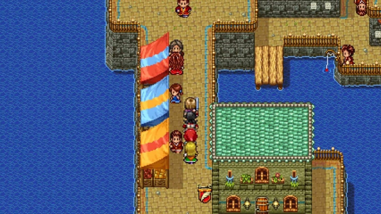 dragon quest XI S - version 2D
