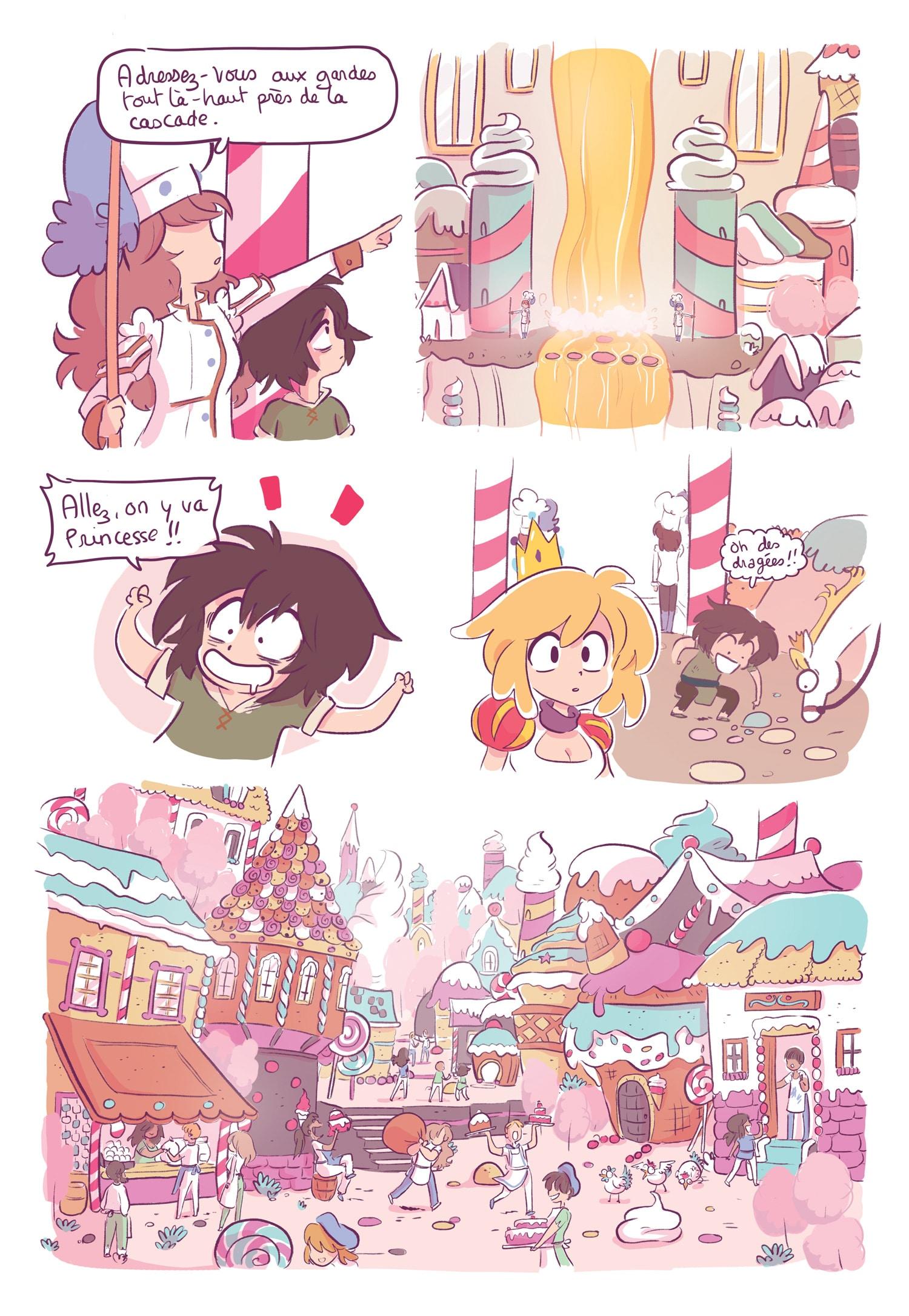 Critique Erika et les princes en détresse - BD aussi drôle qu ...