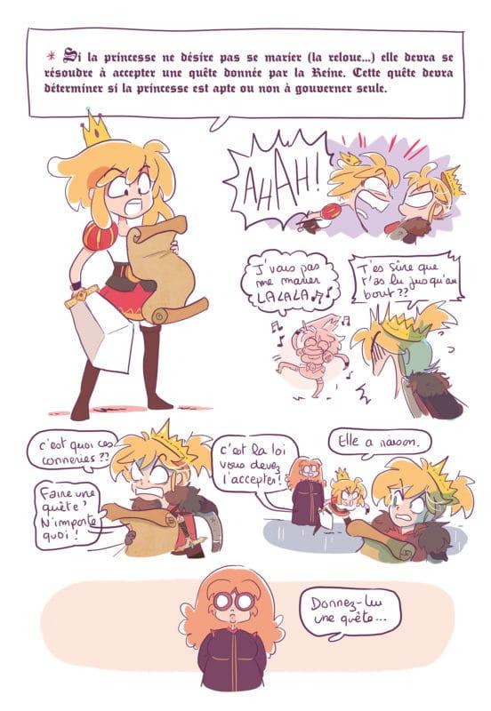 erika et les princes en détresse extrait