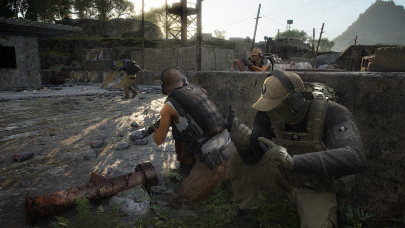 Ghost War team play