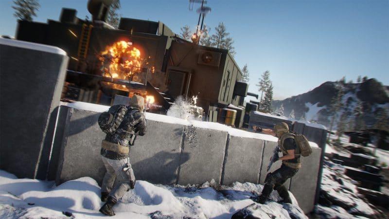 Ghost War gun fight 2