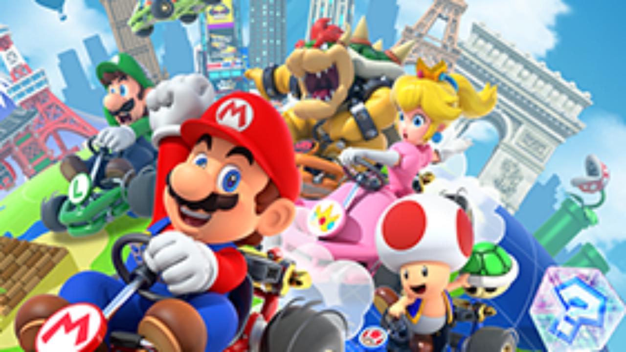 Mario Kart Tour - Mario et co