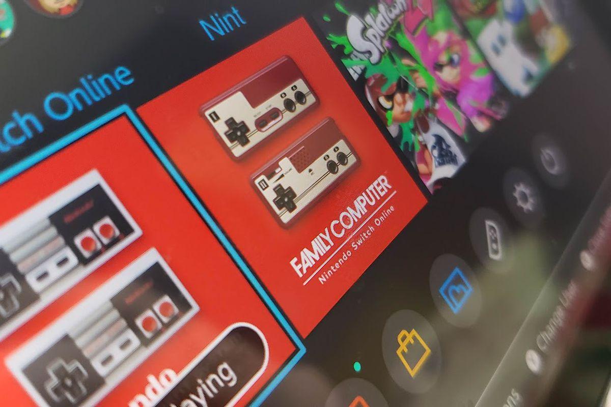 Nintendo Switch Online Février 2020