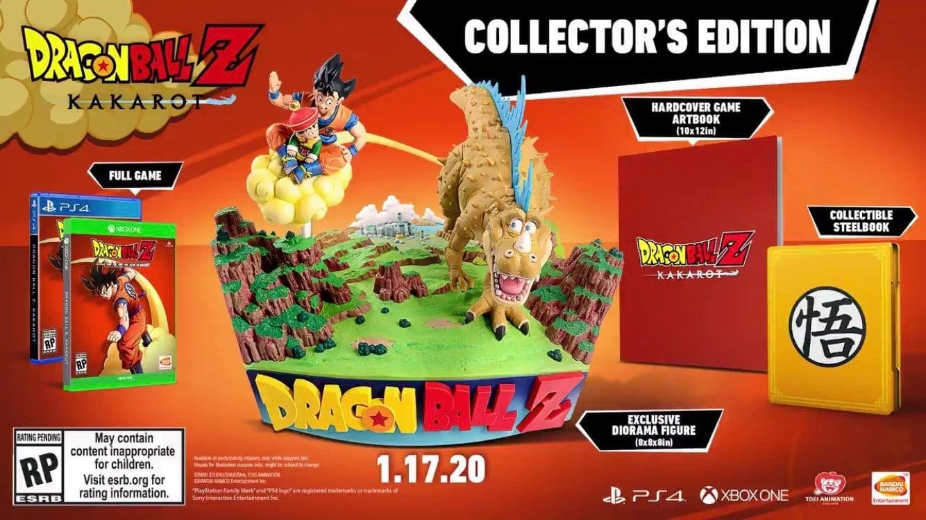 Dragon Ball Z Kakarot Editions Collector