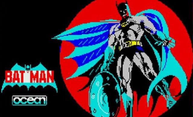 Batman 1986 écran démarrage spectrum
