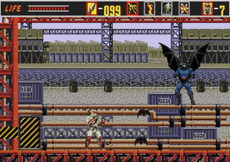 Batman dans revenge of Shinoobi