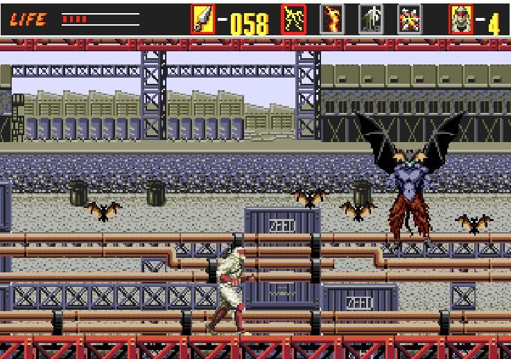 Batman remplacé dans revenge of Shinoobi
