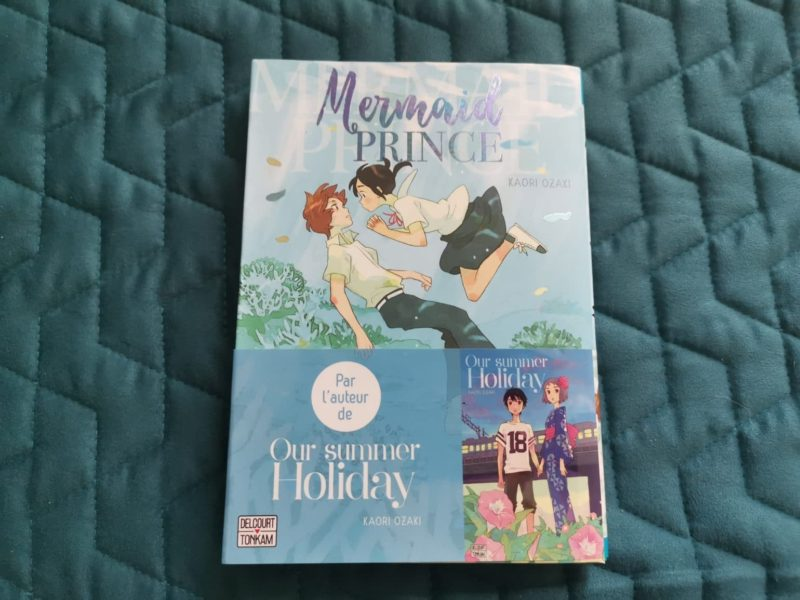 mermaid prince edition delcourt critique premiere de couverture