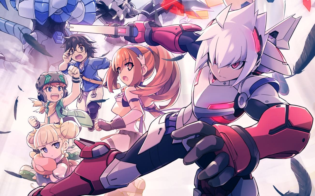Gunvolt Chronicles: Luminous Avengers iX - Copen et co