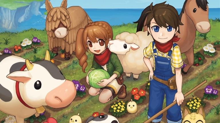 Harvest Moon : Lumière d'espoir ferme