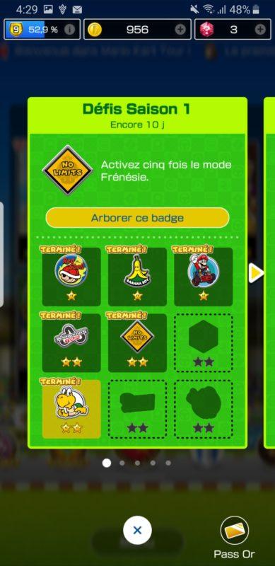 Mario Kart Tour - Liste de missions