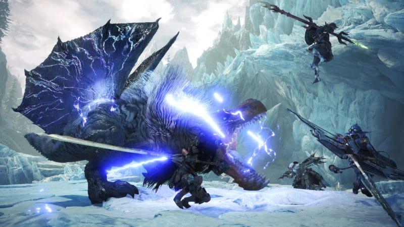 Monster Hunter World: Iceborne - Le Anjanath Tonnerre