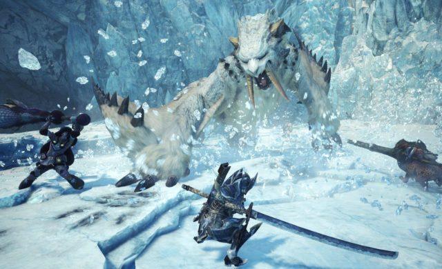Monster Hunter World: Iceborne - Le Barioth