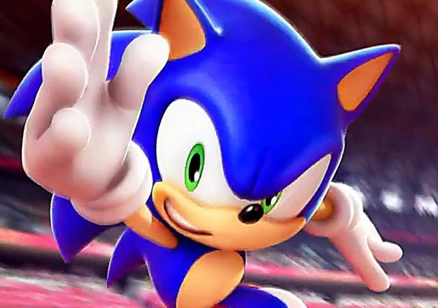 Sonic aux Jeux Olympiques Tokyo 2020 - Sonic rush