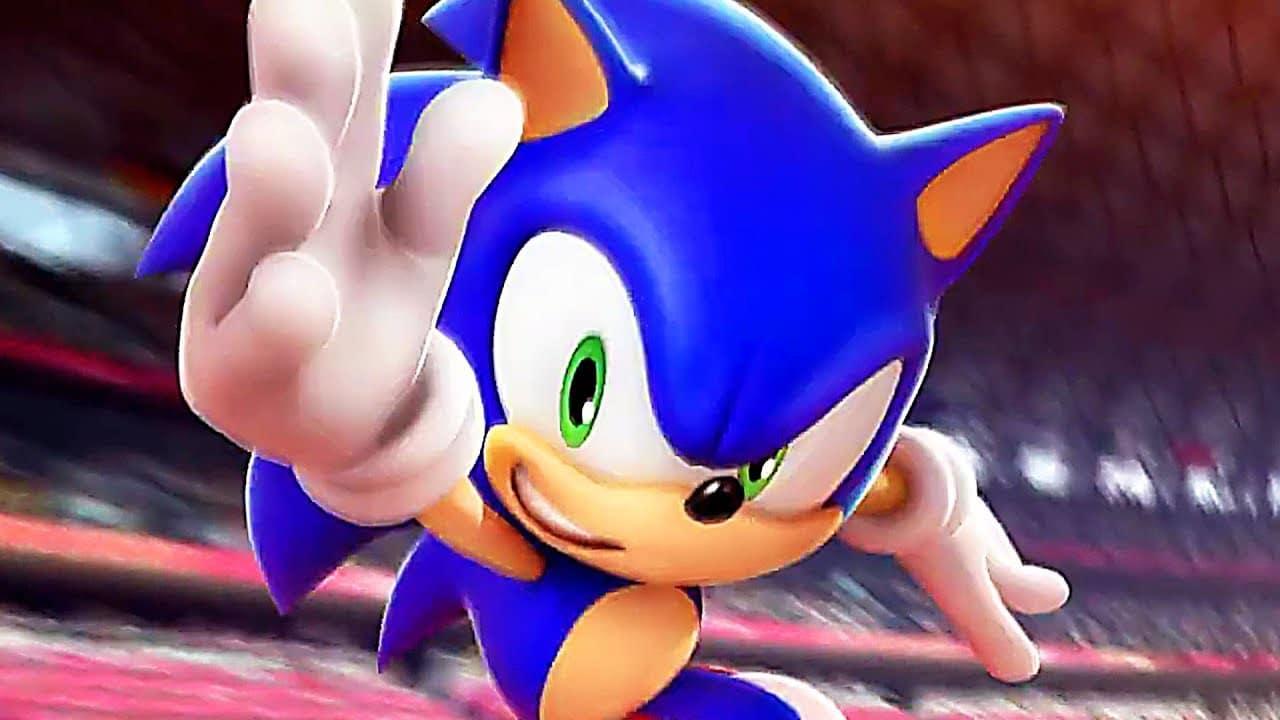 Sonic aux Jeux Olympiques Tokyo 2020 - Sonic rush