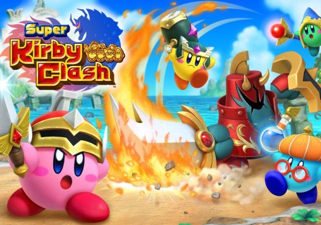 Super Kirby Clash - Kirby au combat