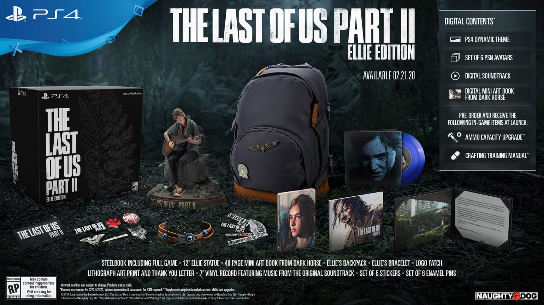 The Last Of Us part II édition Ellie
