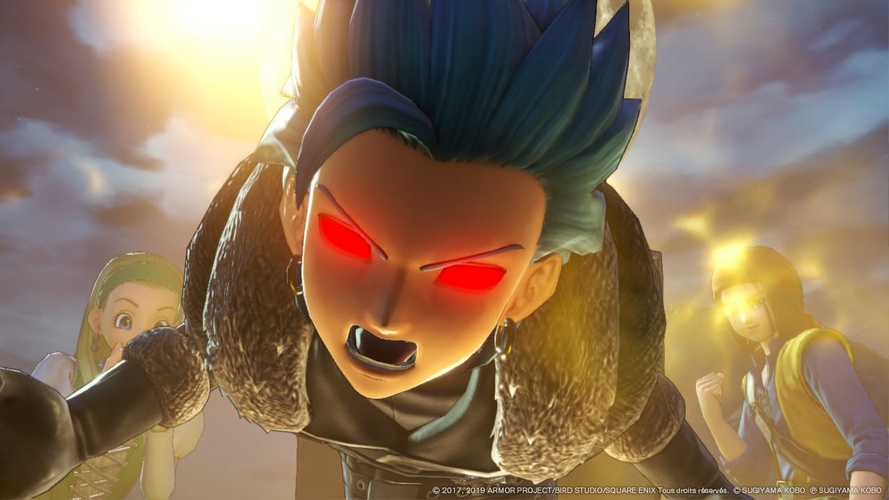 Dragon Quest XI S - Erik combo