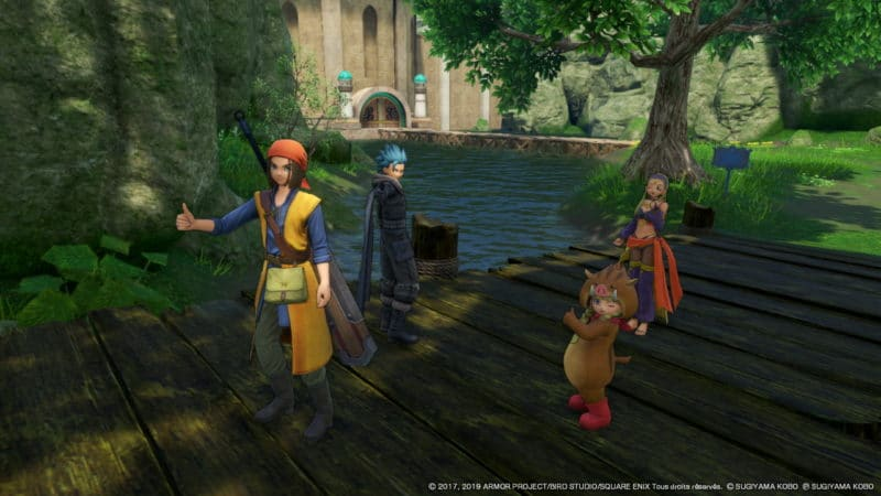 Dragon Quest XI S - mode photo