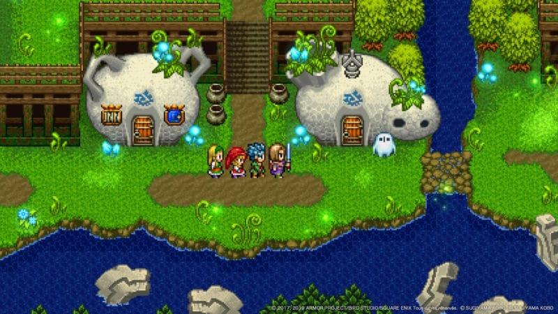 Dragon Quest XI S - mode 2D