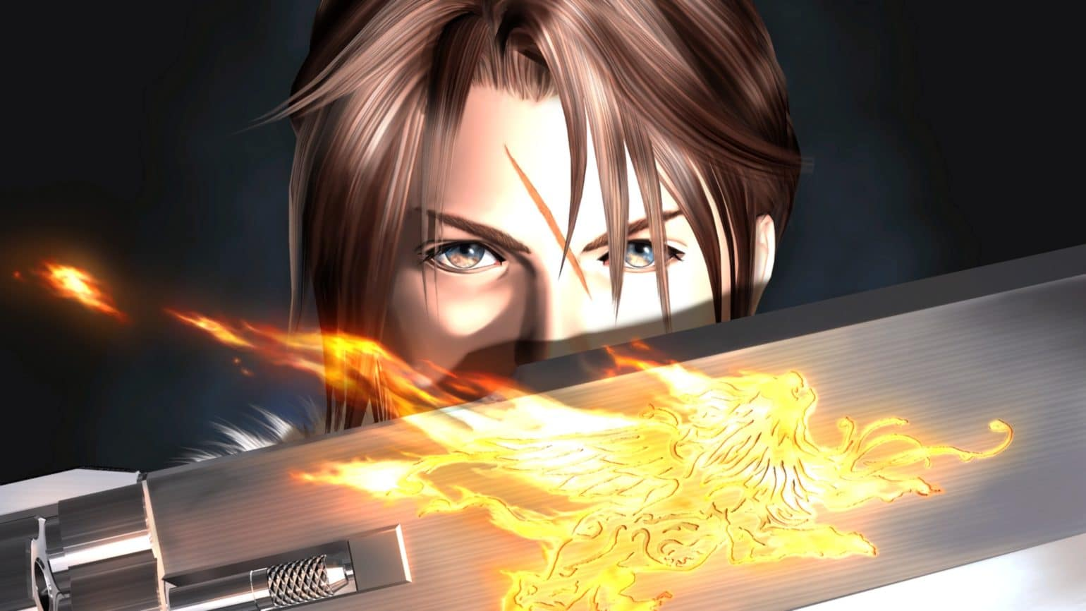 Test Final Fantasy VIII Remastered - Squall