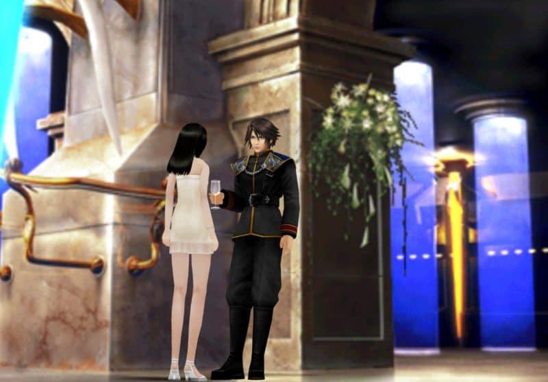 Test Final Fantasy VIII Remastered - Scène du bal