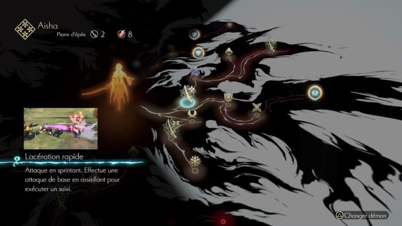 Test Oninaki - arbre de talent