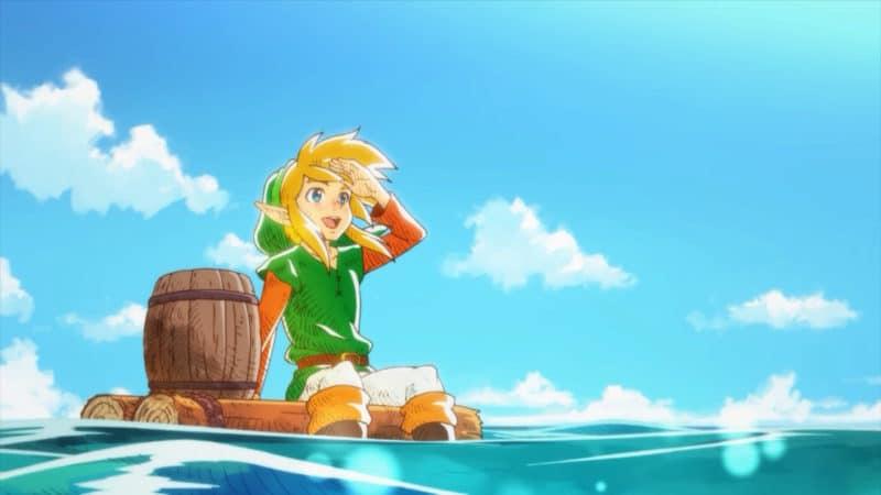 The Legend of Zelda Link's Awakening - Animation