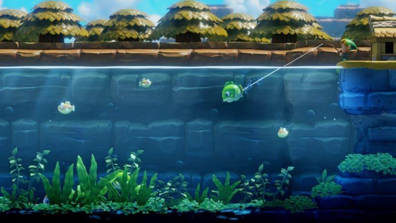 The Legend of Zelda Link's Awakening - pêche