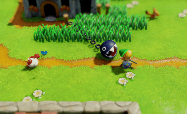 The Legend of Zelda: Link's Awakening chomp
