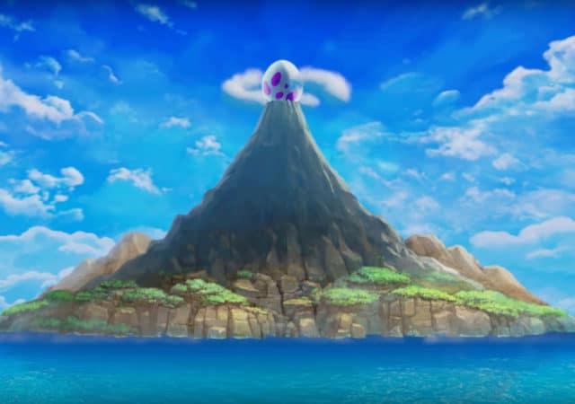 The Legend of Zelda: Link's Awakening volcan