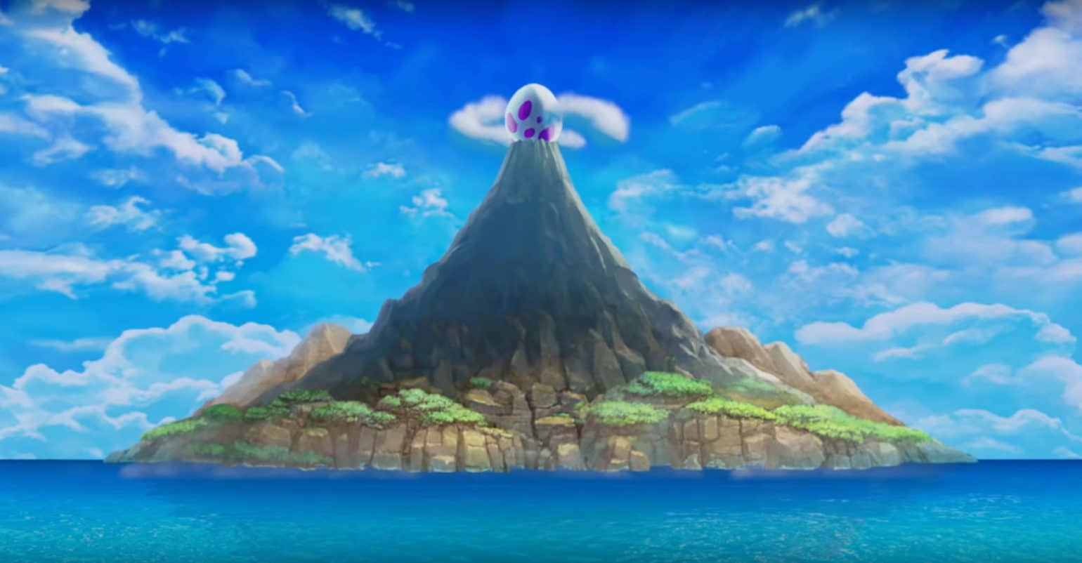 The Legend of Zelda: Link's Awakening volcan