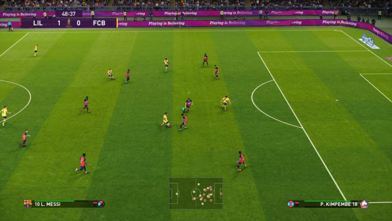 eFootball PES 2020 match 2