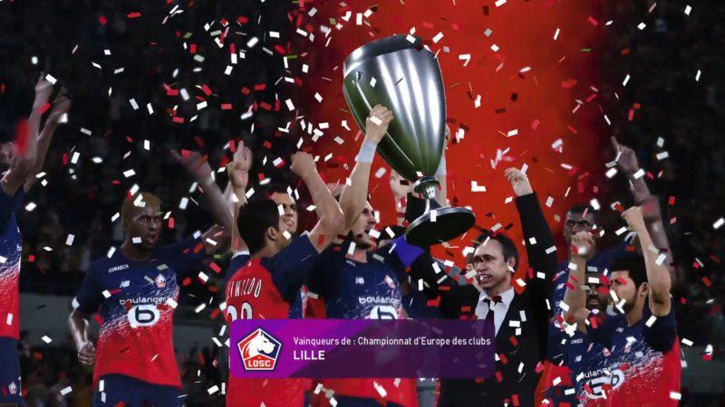 eFootball PES 2020 victoire