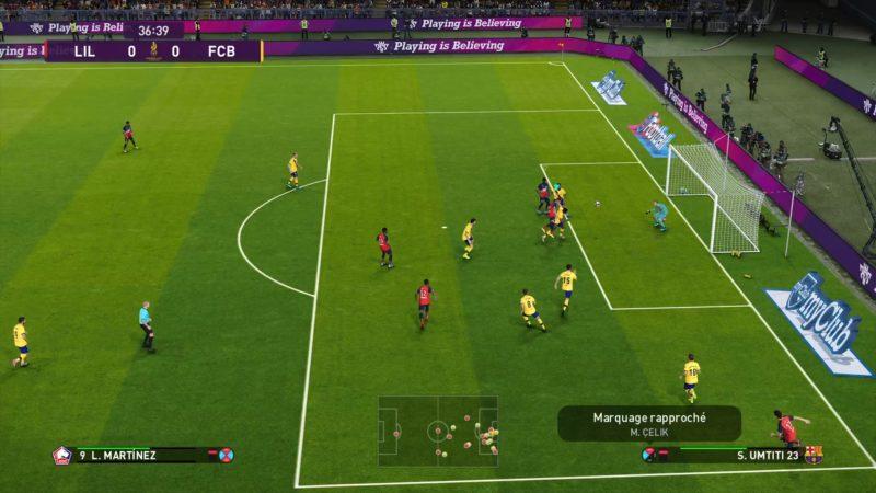 eFootball PES 2020 match 3