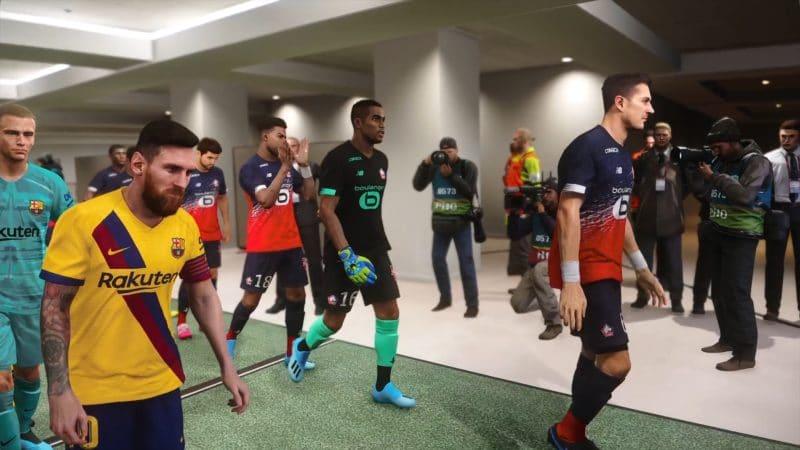 eFootball PES 2020 messi
