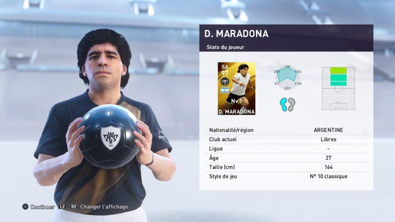 eFootball PES 2020 maradona