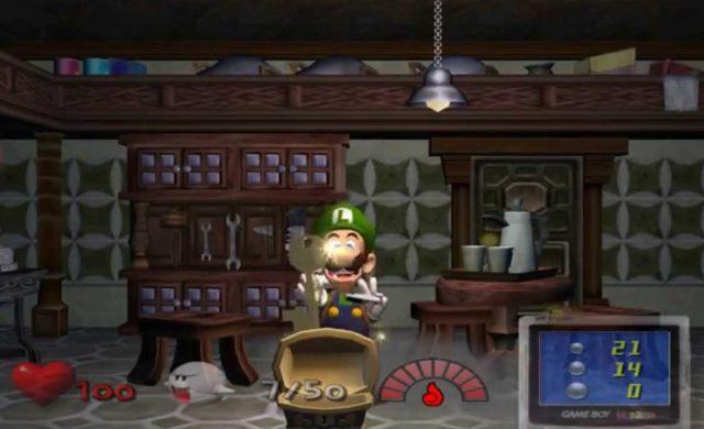 luigi's mansion 3 et luigi's mansion sur gamecube