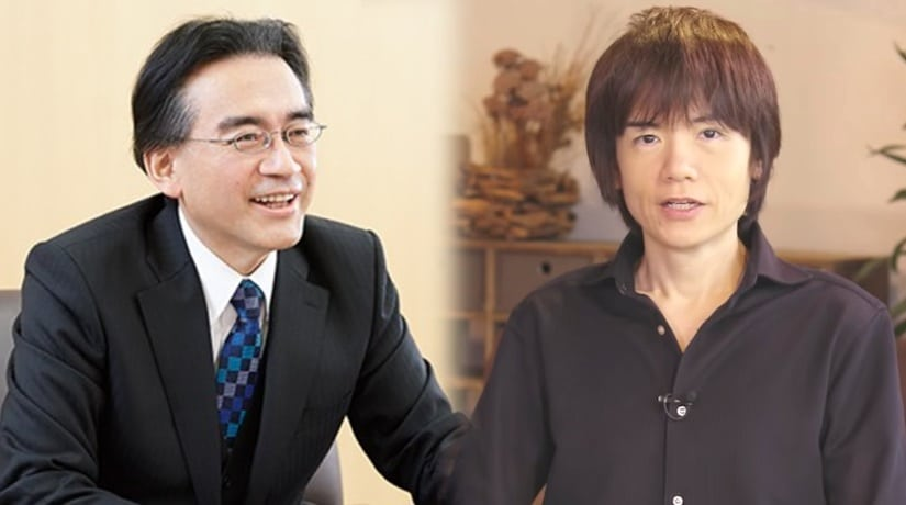 Super Smash Bros. Ultimate - Iwata et Sakurai
