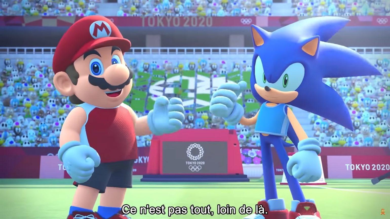 Mario Sonic Aux Jeux Olympiques De Tokyo 2020 Mode